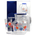 luminarc springdale water set 7pc